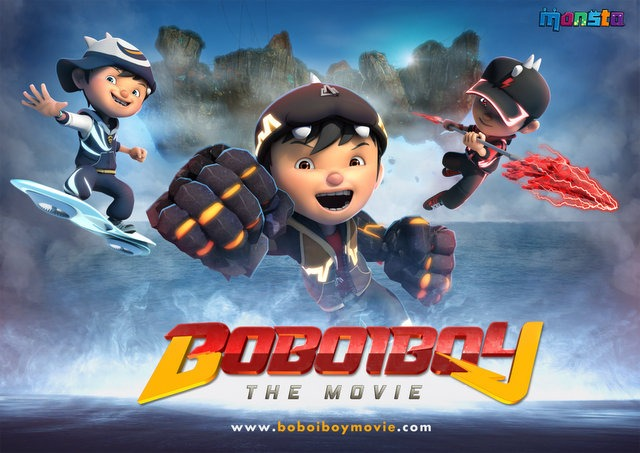 Poster Boboiboy The Movie