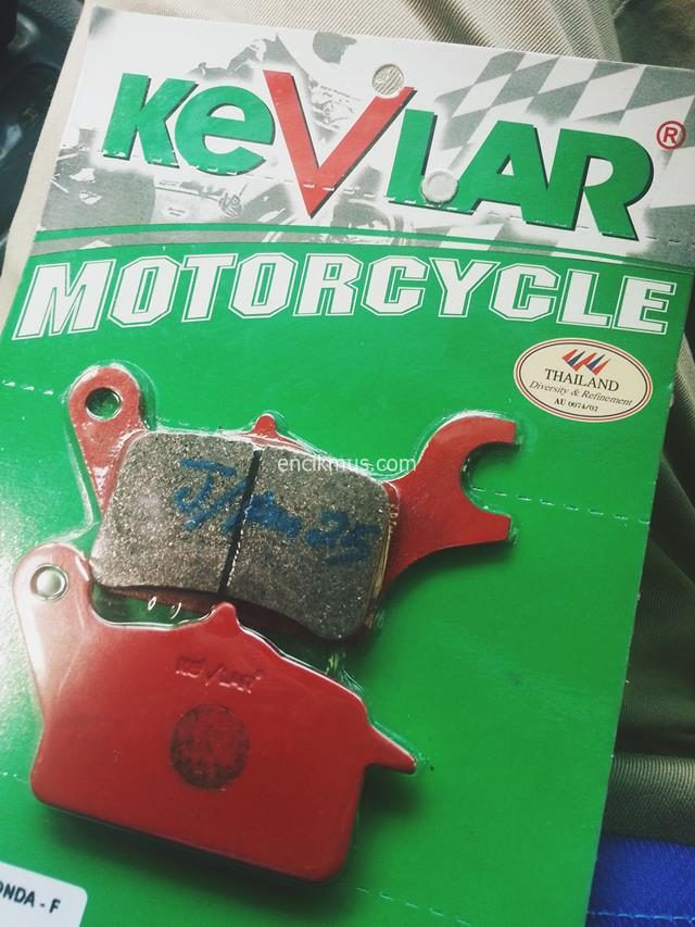 Brake Pad Motorsikal Honda Wave Dash 110